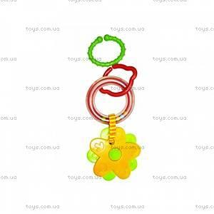 Погремушка-подвеска с грызунком «Цветочки», 096PP, купить