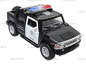 Коллекционная модель авто Hummer H2 Police 2005, KT5097WP, цена
