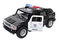 Коллекционная модель авто Hummer H2 Police 2005, KT5097WP, купить