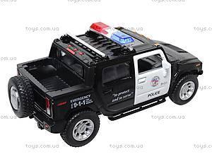 Коллекционная модель авто Hummer H2 Police 2005, KT5097WP, игрушки