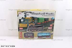 Классическая железная дорога для детей, 6299-64