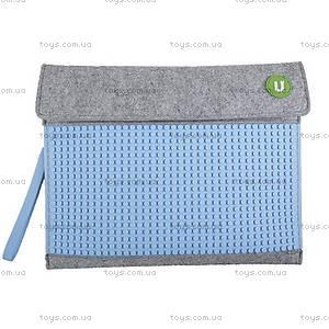 Клатч для планшета Upixel, серо-голубой, WY-B010W