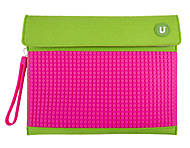 Клатч для планшета Upixel, зелено-малиновый, WY-B010K