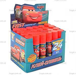 """Клей-карандаш 8 г, PVA """"Cars"""" (24 штуки в упаковке), 320230, купить"""