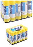 Клей-карандаш Beifa 9 гр, 24 штуки в упаковке, 046AG, магазин игрушек
