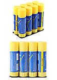 Клей-карандаш 36 г, JOBMAX (8шт.в упаковке), BM.4905, детские игрушки