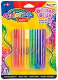 Клей «Rainbow» с блестками металлик 6 цветов Colorino, 68796PTR, цена
