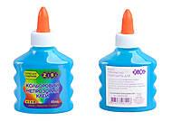 Клей синий непрозрачный на PVA-основе, 88 мл, ZB.6113-02, toys