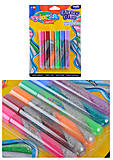 Клей Colorino Swirl с блестками 10.5 мл, 6 цветов, 68857PTR, тойс ком юа
