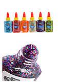 Клей с блестками в тюбике Confetti 9 мл 6 цветов в ассортименте, 68765PTR, фото