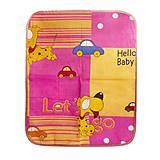 Клеёнка двухслойная, 63 х 53 см розовая, 200, toys.com.ua