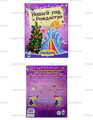 Раскраска Принцессы «Новый год и Рождество», К17943Р