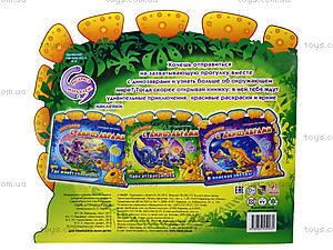 Детская книга-раскраска «Парк аттракционов», А18606Р, купить