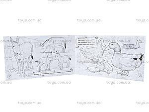Детская раскраска «Животные. На ферме», А583003Р, фото