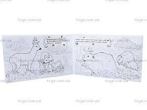 Детская раскраска «Животные. В лесу», А583004Р, купить