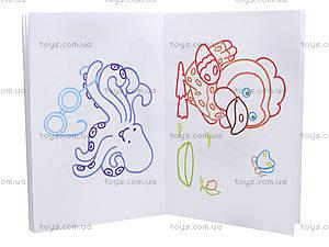 Раскраска с подсказками «Лесные зверята», К253004Р, купить