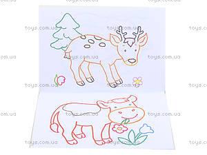 Раскраска для детей с подсказками «Умные животные», С560008РУ, фото