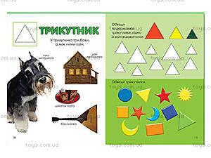 Книжка для детей «Маленький вундеркинд. Формы», 2211, купить