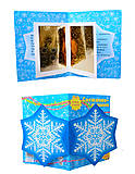 Книжка-открытка «Снежинки-пушинки», С572003РК19553Р