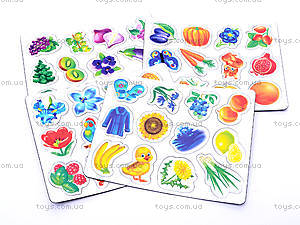 Книжка с магнитами «Цвета», 75047, детские игрушки