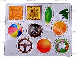 Книжка с магнитами «Формы», 75054, игрушки