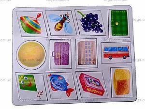 Книжка с магнитами «Формы», 75054, детские игрушки