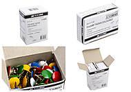 Кнопки цветные JOBMAX, 50 штук (10 наборов в упаковке), BM.5106, игрушки