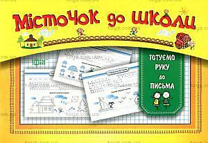 Книга для дошкольников, готовим руку к письму, 03514
