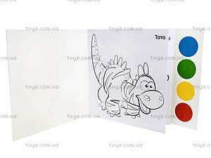 Игровой набор художника «Fun color. Динозаврик», Ю126076У, купить
