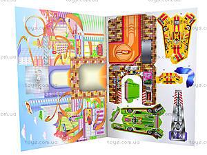 Книга-конструктор «Magic land. Гонки в городе», Ю464022Р, цена