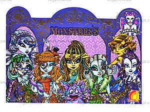 Книга «Magic land. Замок Монстресс», Ю464017Р, игрушки