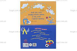 Детская книга-игра «Где живут буквы?», русская, 9069, фото