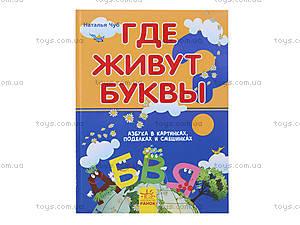 Детская книга-игра «Где живут буквы?», русская, 9069, отзывы