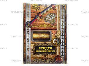 Игровой набор «Сундук настоящего пирата», Ю464007Р, купить