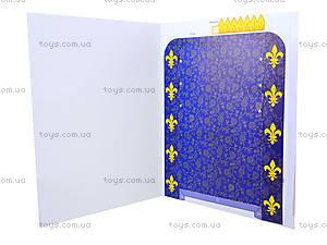 Книга «Одень куклу. Король и королева», 9191, игрушки