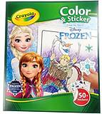 Книга-раскраска для детей с наклейками «Холодное сердце», 04-5864, фото