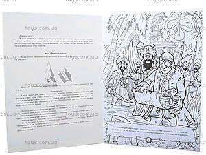 Книга-раскраска «Пираты: Остров забытых сокровищ», А423005Р9672, цена