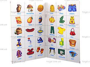 Книга с магнитами English «Учимся писать», Л385001Р, фото
