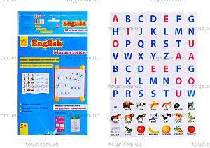 Книга с магнитами English «Учимся писать», Л385001Р