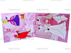 Раскраска с камнями «Принцессы», Ю125004РУ, купить
