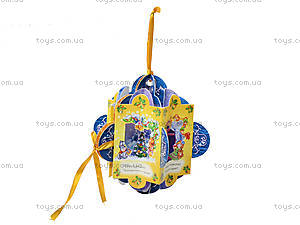 Книжка-игрушка на елочку «Новогодняя почемучка», М17764Р, купить