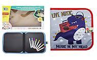 """Книжка-коврик для рисования водными мелками """"Динозавр"""", RE 333-63-66-69-70, фото"""