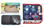 """Книжка-коврик для рисования водными мелками """"Роботы"""" , RE 333-63-66-69-70, фото"""