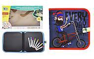 """Книжка-коврик для рисования водными мелками """"Велосипедист"""", RE333-63-66-69-70, отзывы"""