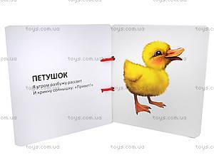 Книжка на шнурочке «Домашние животные», Талант, купить