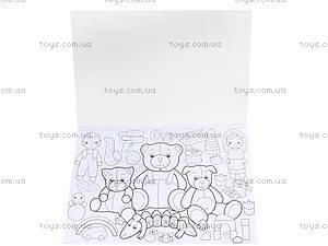 Книжка-раскраска «Мои любимые забавы», К182004Р, купить