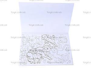 Книжка-раскраска «Мышки, зайки, петушки», К182002Р, купить