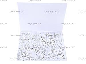 Книжка-раскраска «Мышки, зайки, петушки», К182002Р, фото