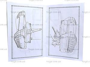 Книжка-раскраска «Военная техника», 8 листов, 110081, фото
