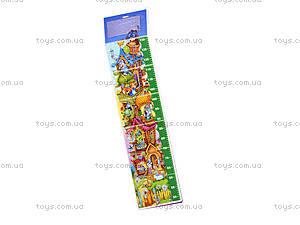 Книжка-ростомер «Теремок», на украинском, М3230006У, купить